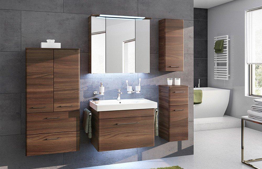 pelipal badezimmer pineo myrah maris in sangallo braun m bel letz ihr online shop. Black Bedroom Furniture Sets. Home Design Ideas