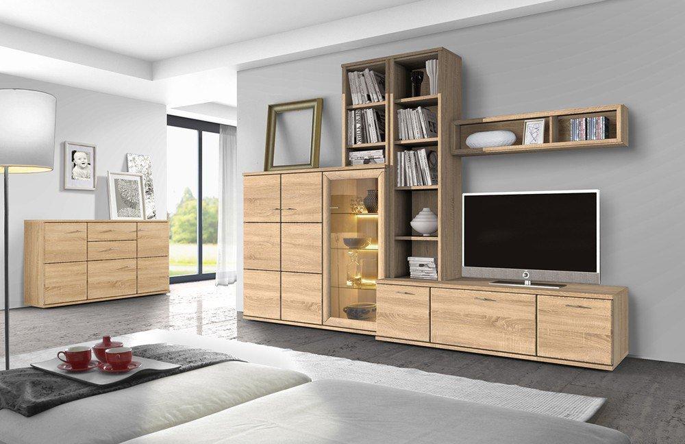 wohnwand just eb31503 von stralsunder m bel letz ihr online shop. Black Bedroom Furniture Sets. Home Design Ideas