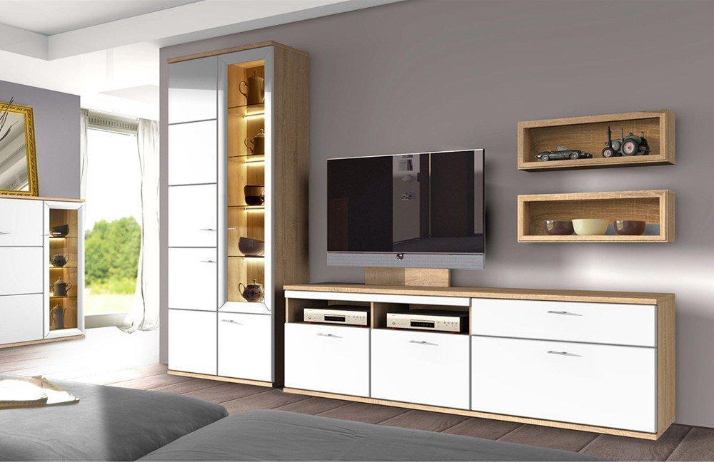 wohnwand just bestseller shop f r m bel und einrichtungen. Black Bedroom Furniture Sets. Home Design Ideas