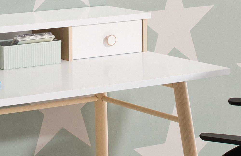 paidi ylvie schreibtisch skandinavisch wei m bel letz. Black Bedroom Furniture Sets. Home Design Ideas