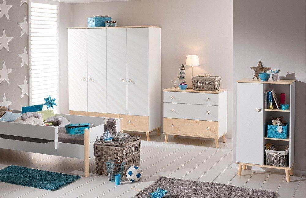 paidi ylvie kinderzimmer birke wei m bel letz ihr online shop. Black Bedroom Furniture Sets. Home Design Ideas