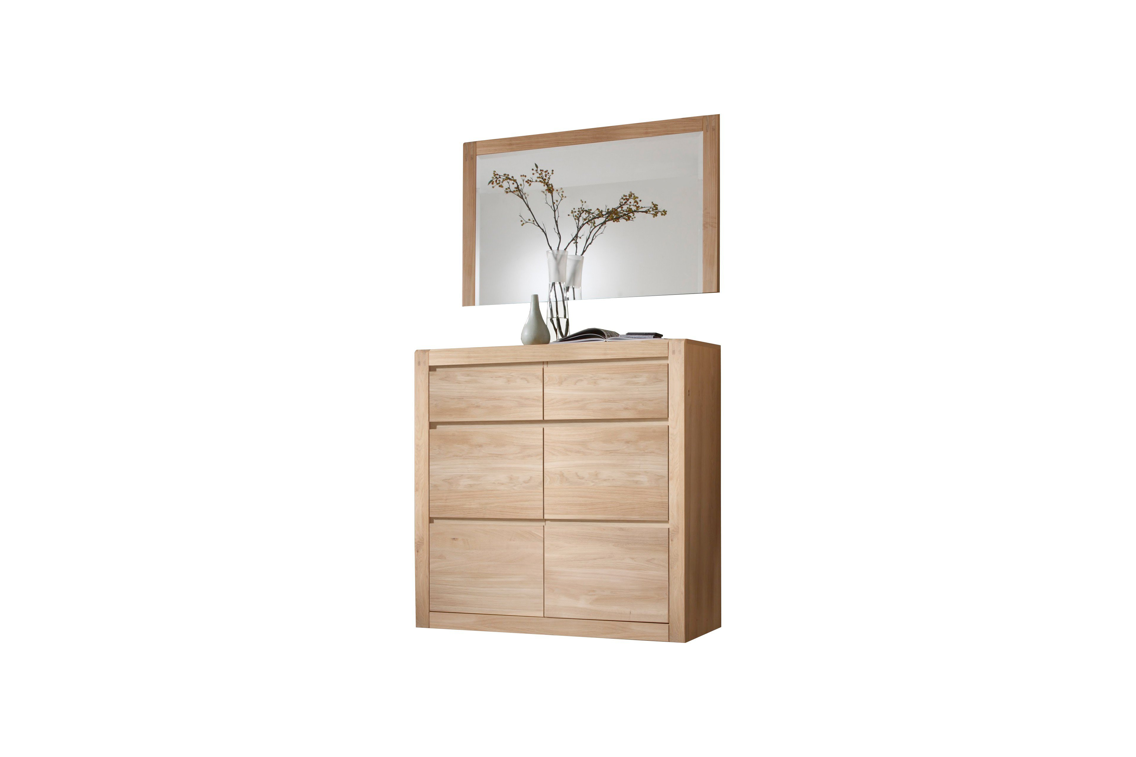garderobe vivien eiche bianco aus der kollektion letz. Black Bedroom Furniture Sets. Home Design Ideas