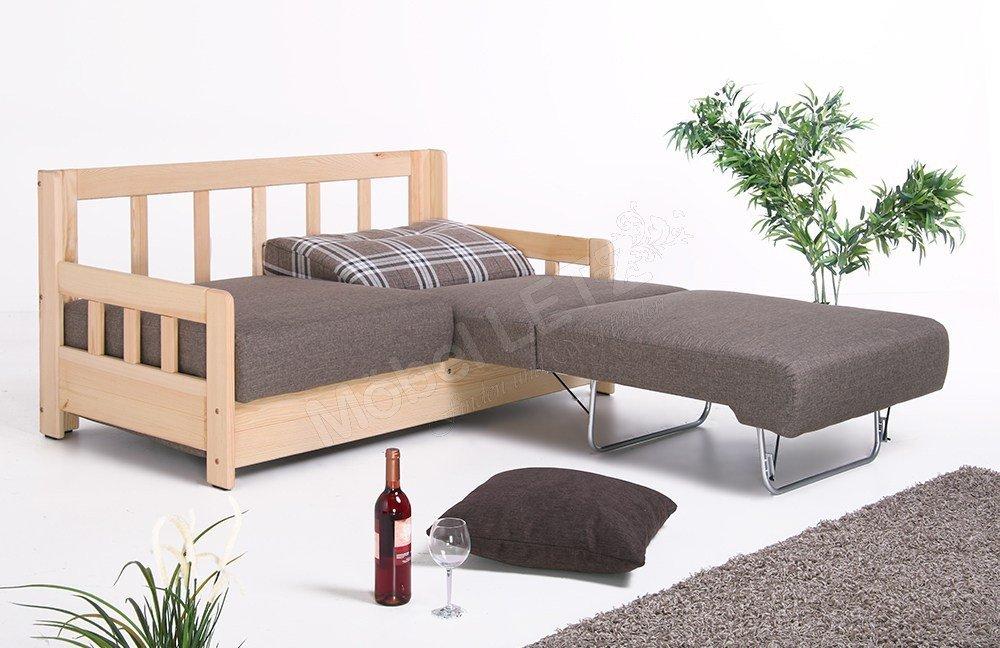 benformato schlafsofa campi braun kariert m bel letz ihr online shop. Black Bedroom Furniture Sets. Home Design Ideas