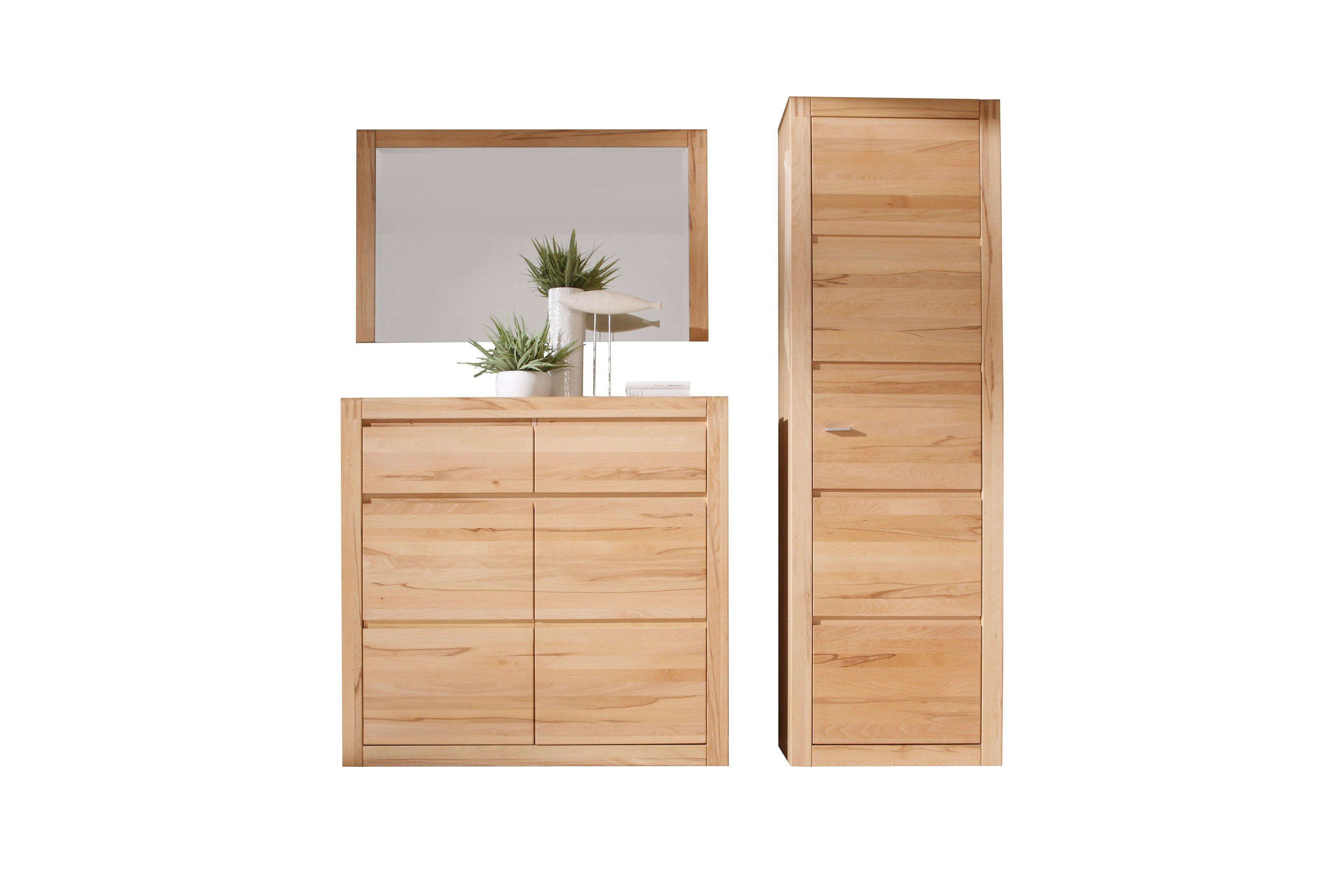 garderobe vivien kernbuchenholz aus der kollektion letz m bel letz ihr online shop. Black Bedroom Furniture Sets. Home Design Ideas