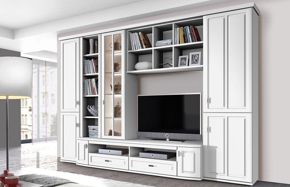 96 wohzimmerschrnke online kaufen bestellen for Wohnwand ohne tv element