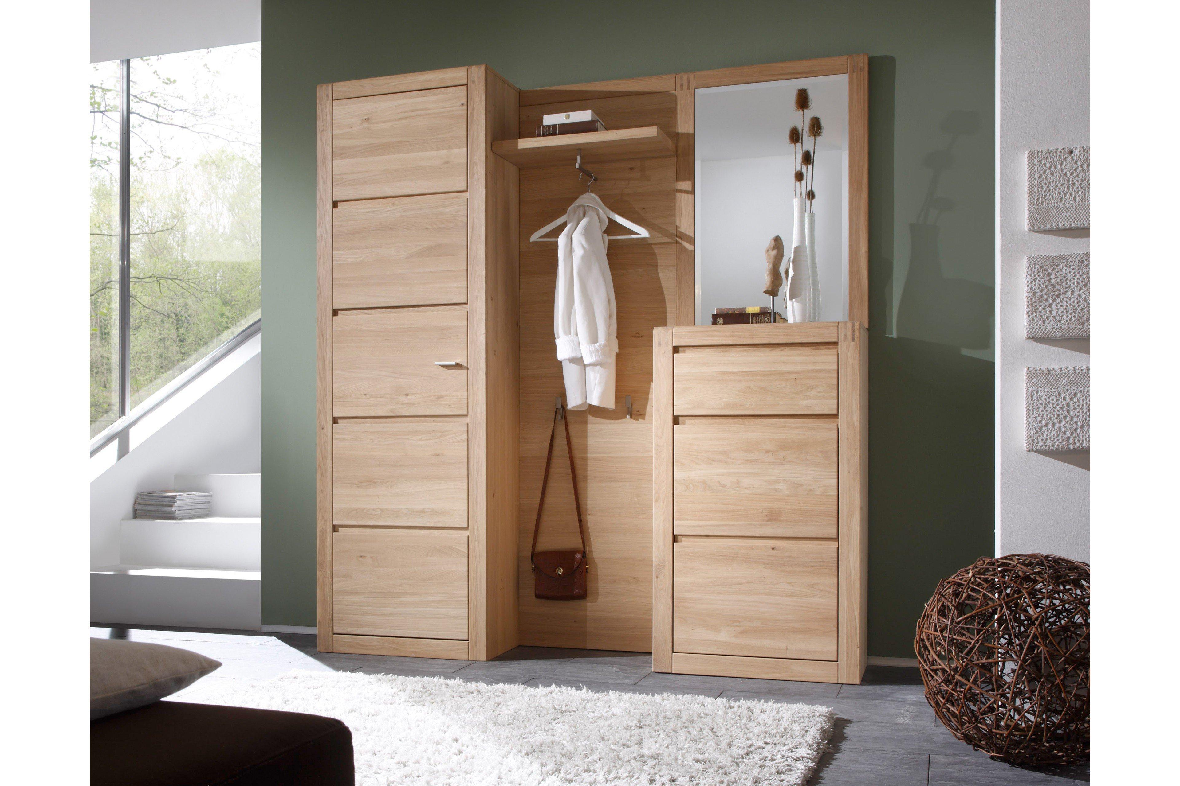 garderobe vivien eiche aus der kollektion letz m bel. Black Bedroom Furniture Sets. Home Design Ideas