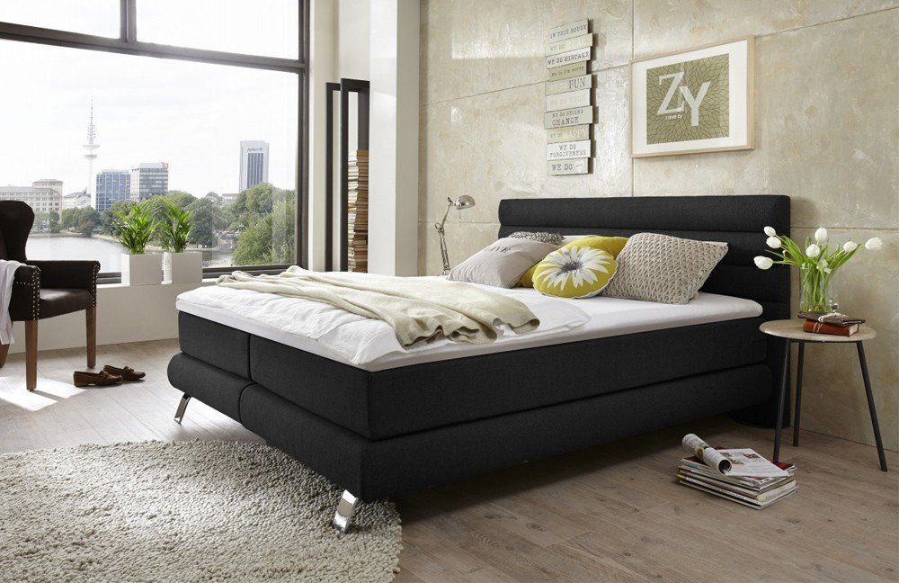 otten boxspringbett im modernen design m bel letz ihr online shop. Black Bedroom Furniture Sets. Home Design Ideas