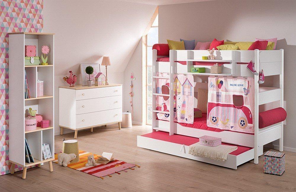 Etagenbett Kinderzimmer Paidi : Paidi etagenbett ylvie kreideweiß möbel letz ihr online shop