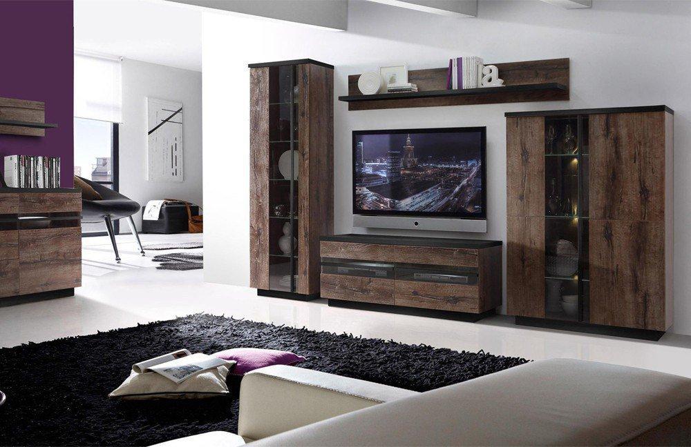 mobile wohnwand wohnung new york bilder. Black Bedroom Furniture Sets. Home Design Ideas