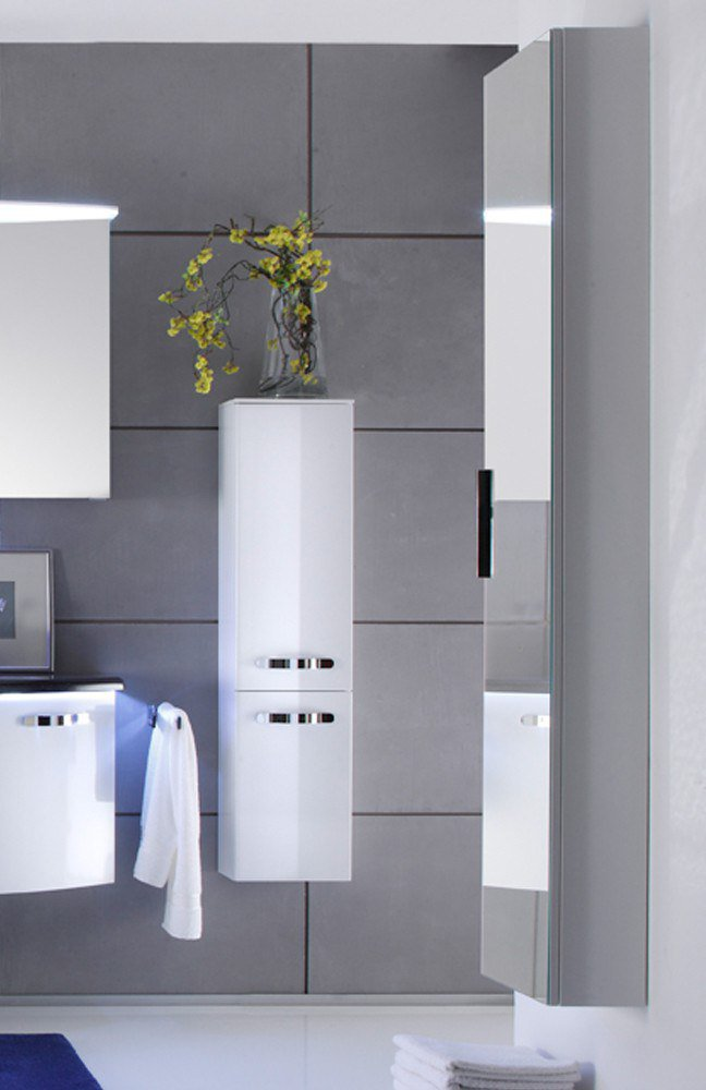 Solitaire 7005 Von Pelipal   Badezimmer In Weiß Hochglanz