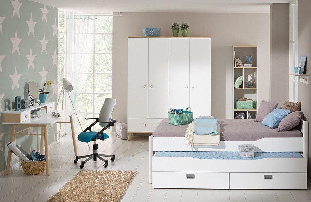 Etagenbett Ylvie Paidi : Paidi jugendzimmer ylvie kreideweiß möbel letz ihr online shop