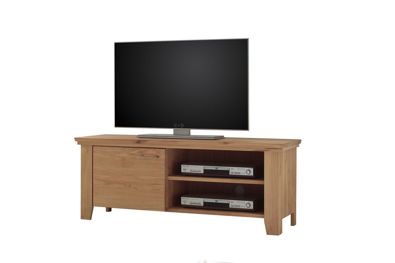 quadrato tv lowboard lea wildeiche bianco m bel letz ihr online shop. Black Bedroom Furniture Sets. Home Design Ideas