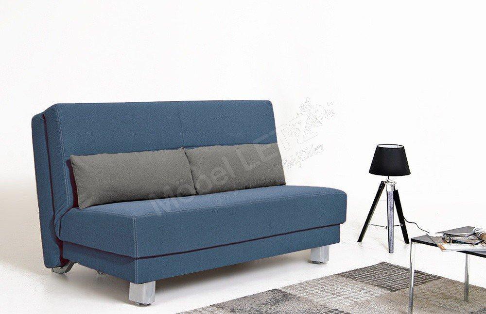 Schlafsofa Blau sedaro schlafsofa enzo blau grau optional mit bettkasten möbel