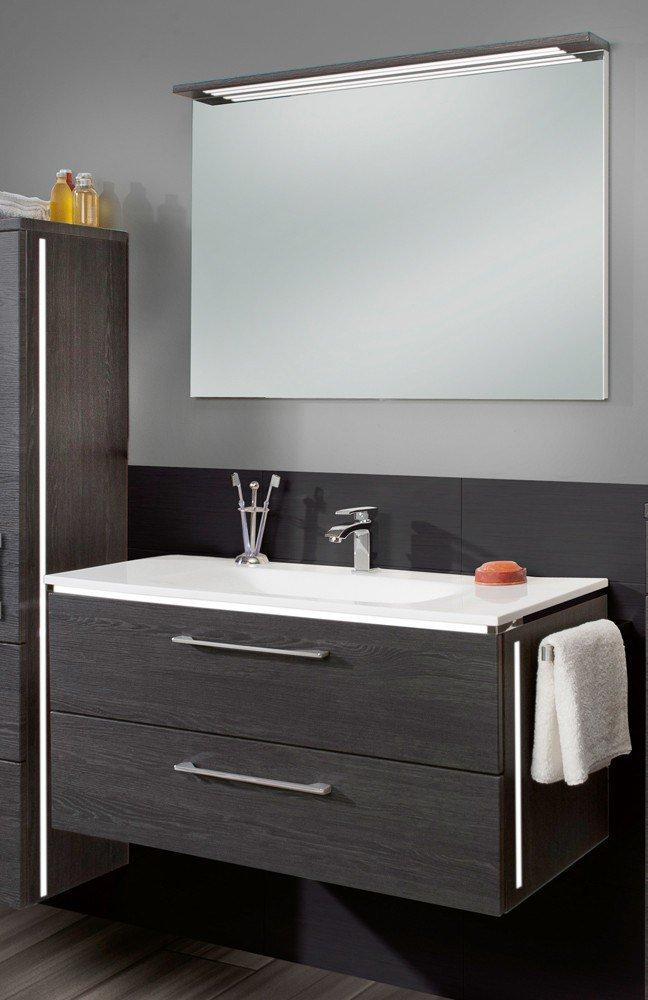 Badezimmer 3170 robinie dunkel von marlin m bel letz for Badezimmer shop