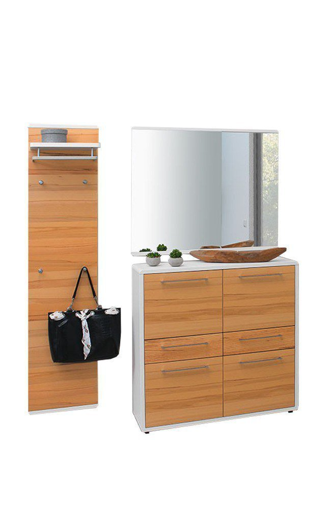 garderobe riccarda wei kernbuche aus der kollektion letz. Black Bedroom Furniture Sets. Home Design Ideas