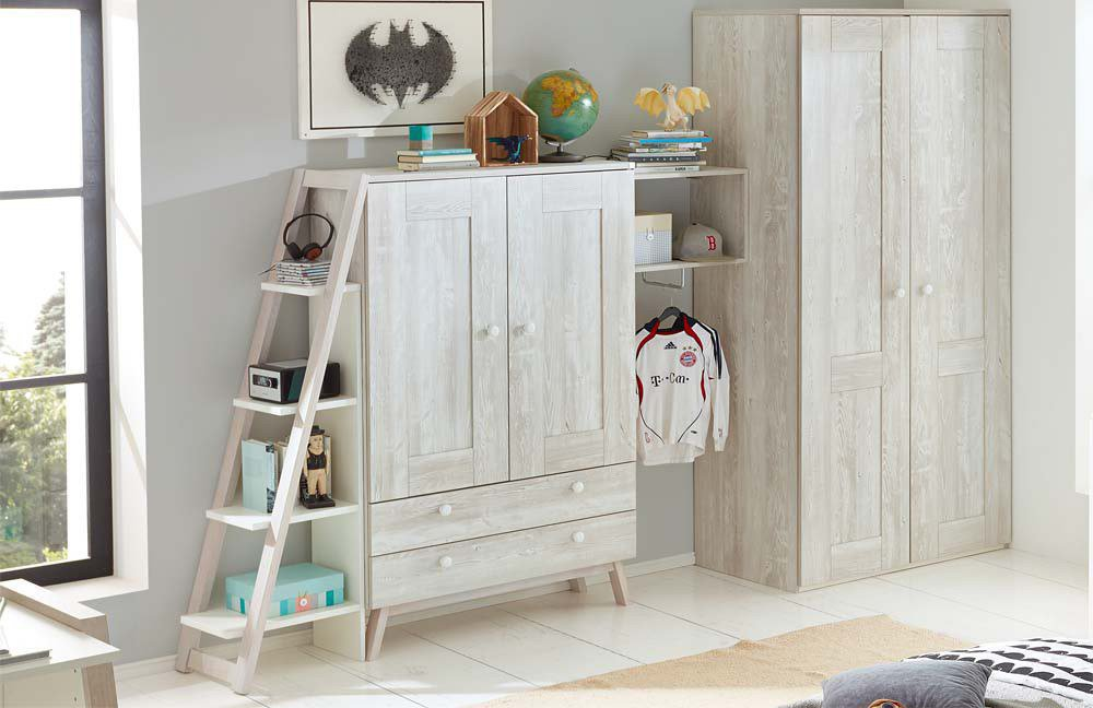 r hr bush kinderzimmer 362 cottage nordic pine m bel. Black Bedroom Furniture Sets. Home Design Ideas