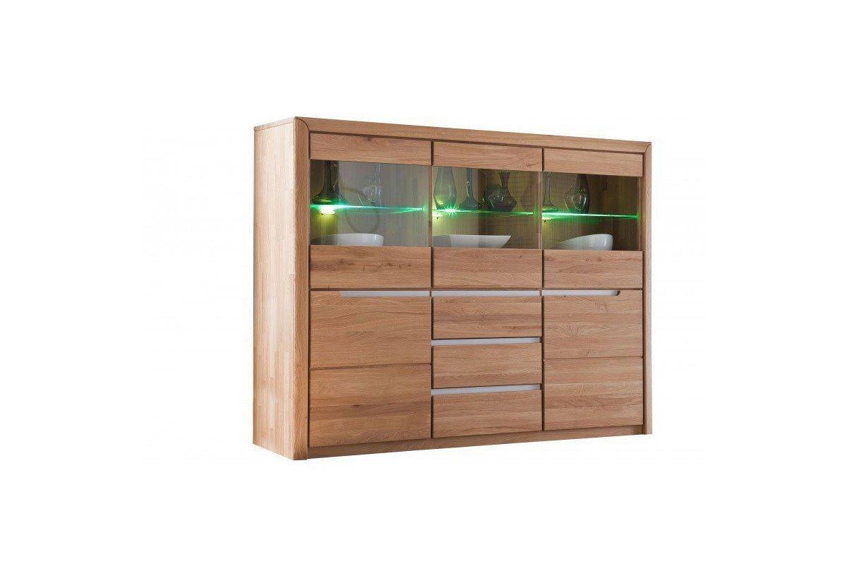 quadrato highboard florenz 48 eiche massiv m bel letz ihr online shop. Black Bedroom Furniture Sets. Home Design Ideas