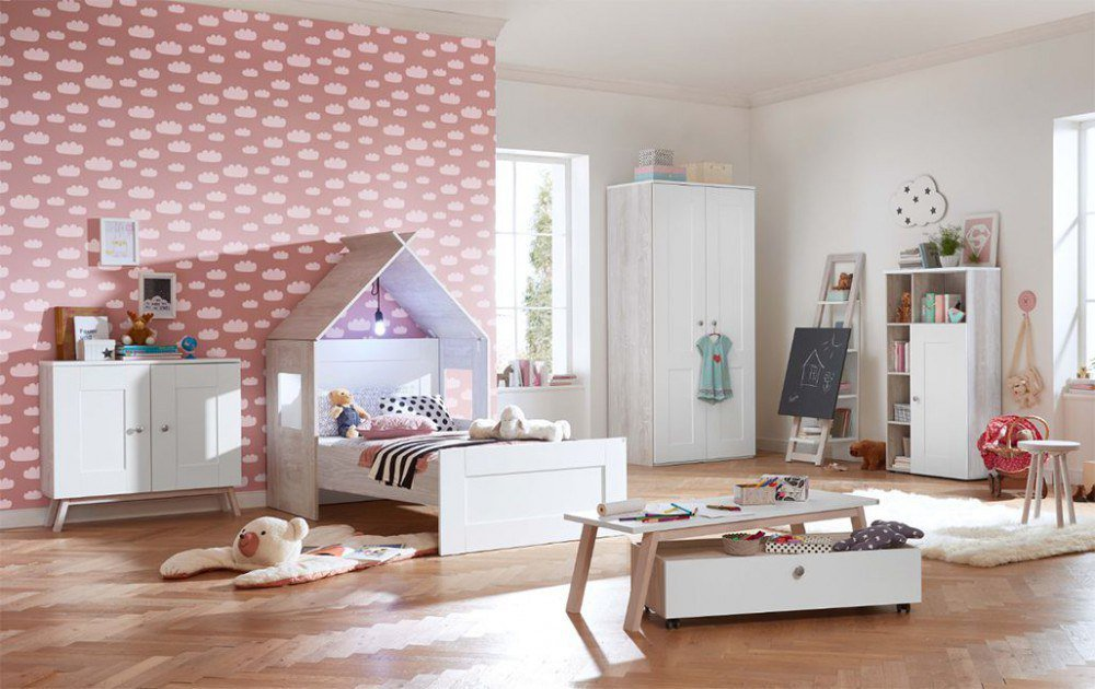 r hr bush 362 cottage 2 teiliges kinderzimmer m bel letz ihr online shop. Black Bedroom Furniture Sets. Home Design Ideas