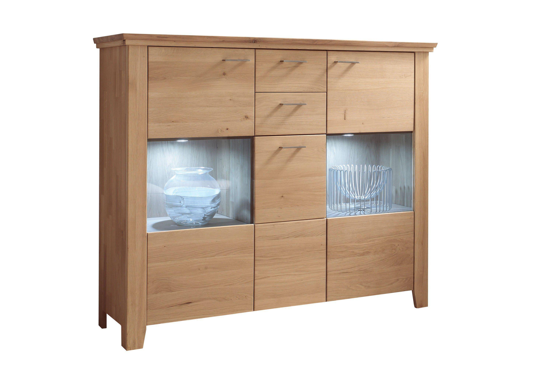 quadrato highboard lea 48 wildeiche m bel letz ihr online shop. Black Bedroom Furniture Sets. Home Design Ideas