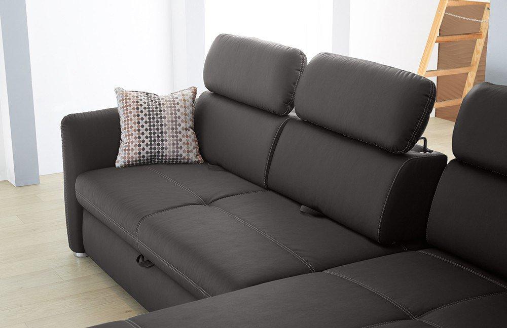 kollektion letz aaron ecksofa in braun m bel letz ihr online shop. Black Bedroom Furniture Sets. Home Design Ideas