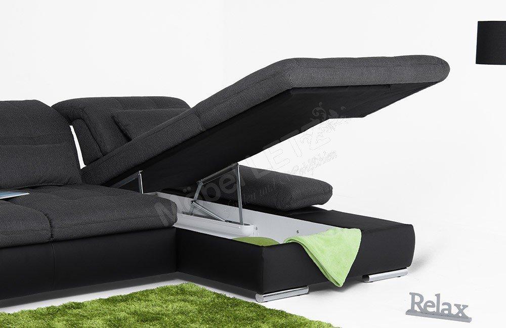 ecksofa von poco polsterm bel santa fe m bel letz. Black Bedroom Furniture Sets. Home Design Ideas