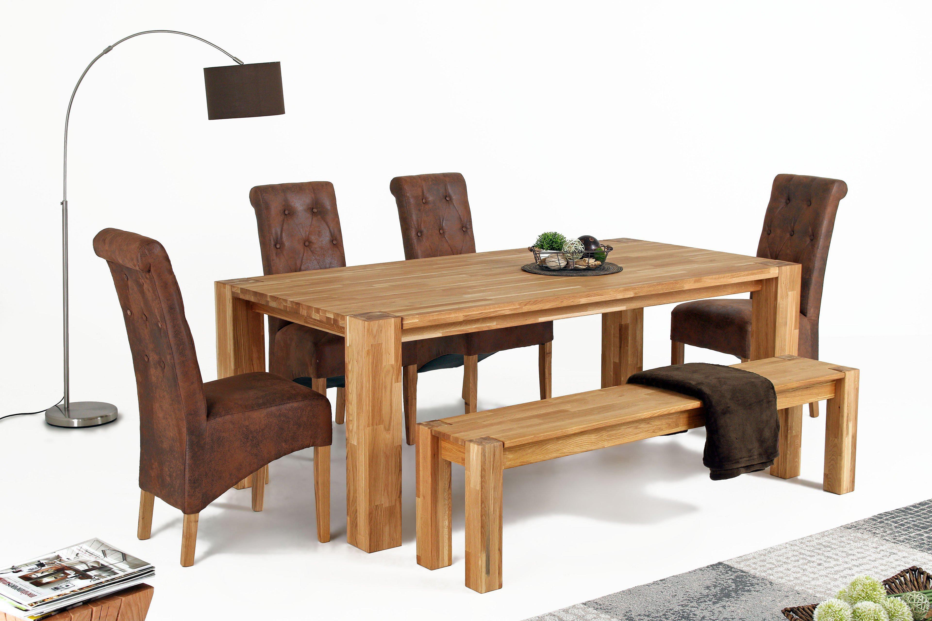esstisch big oak wildeiche massiv m bel. Black Bedroom Furniture Sets. Home Design Ideas