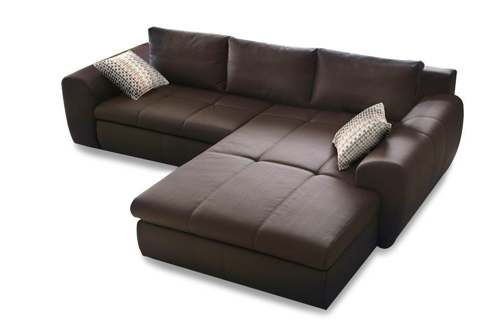 kollektion letz colleen ecksofa dunkelbraun m bel letz ihr online shop. Black Bedroom Furniture Sets. Home Design Ideas