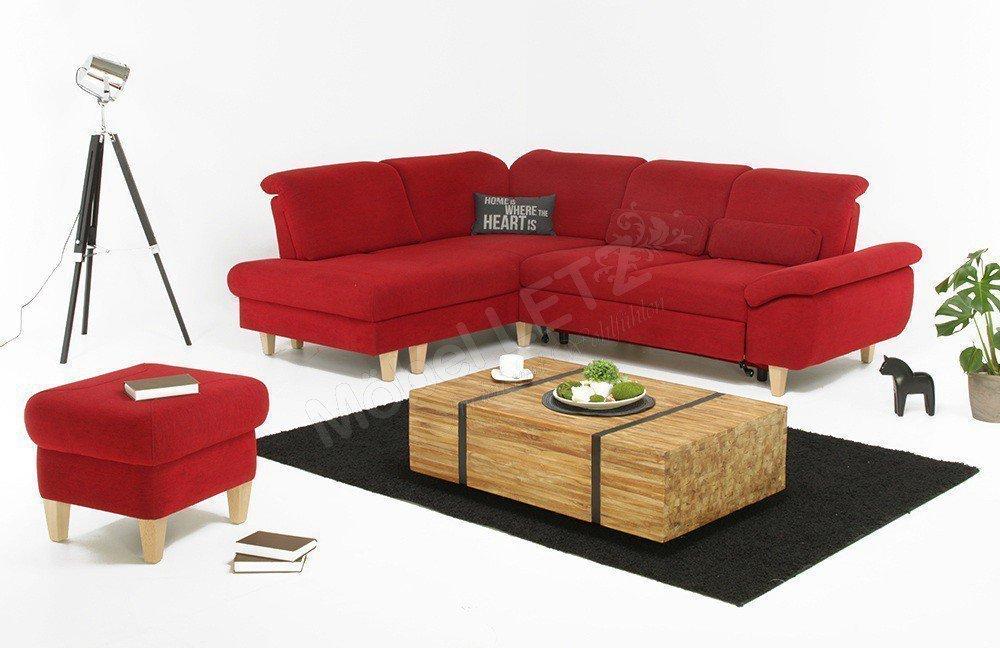 Dietsch Ecksofa Time in Rot | Möbel Letz - Ihr Online-Shop