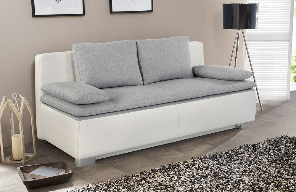 kollektion letz bea schlafsofa wei grau m bel letz ihr online shop. Black Bedroom Furniture Sets. Home Design Ideas