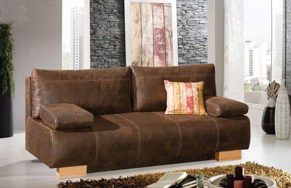 kollektion letz henning schlafsofa in braun l m bel letz ihr online shop. Black Bedroom Furniture Sets. Home Design Ideas
