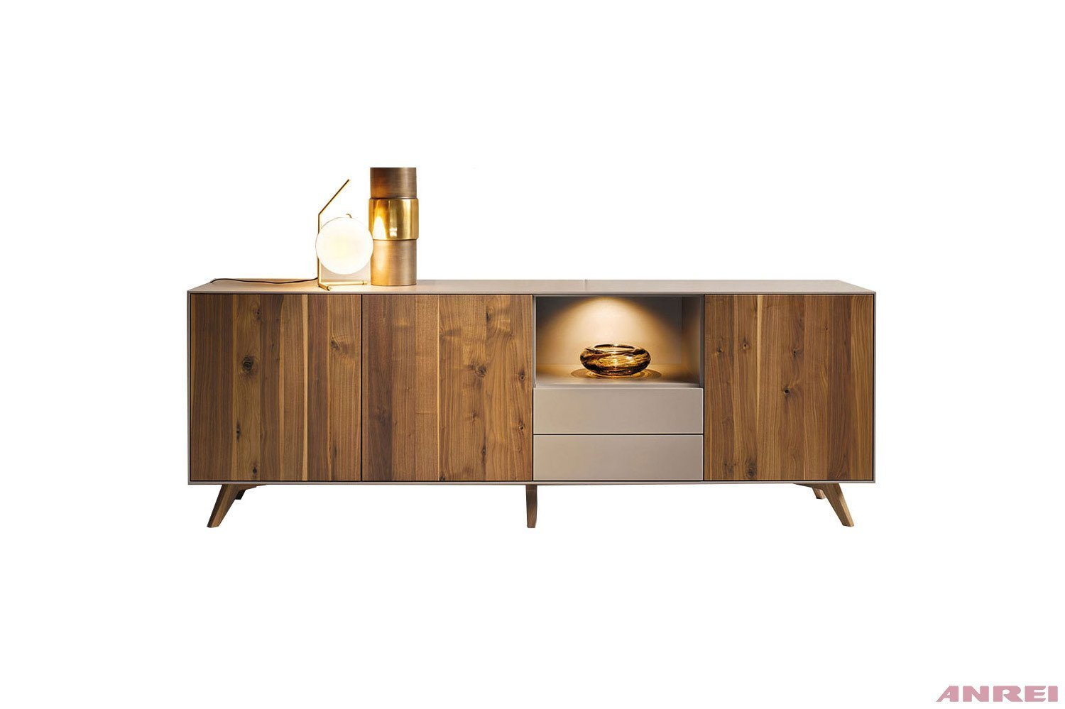 sideboard puro astnuss von anrei m bel letz ihr online shop. Black Bedroom Furniture Sets. Home Design Ideas