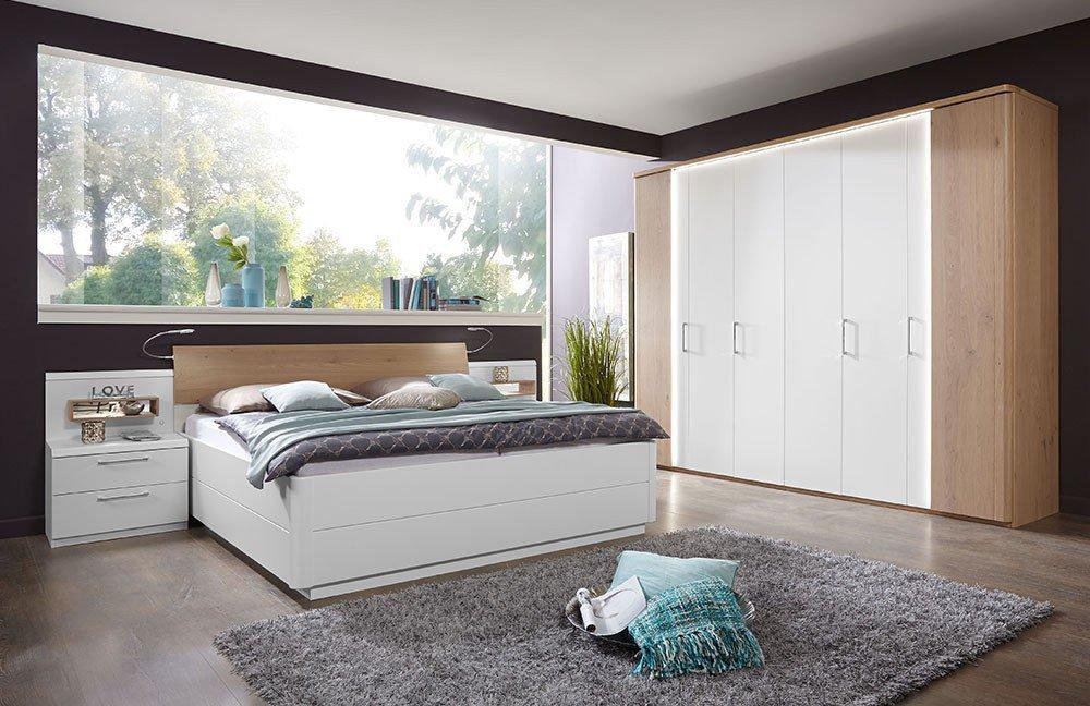 Disselkamp Calida Schlafzimmer Eiche bianco | Möbel Letz - Ihr ...