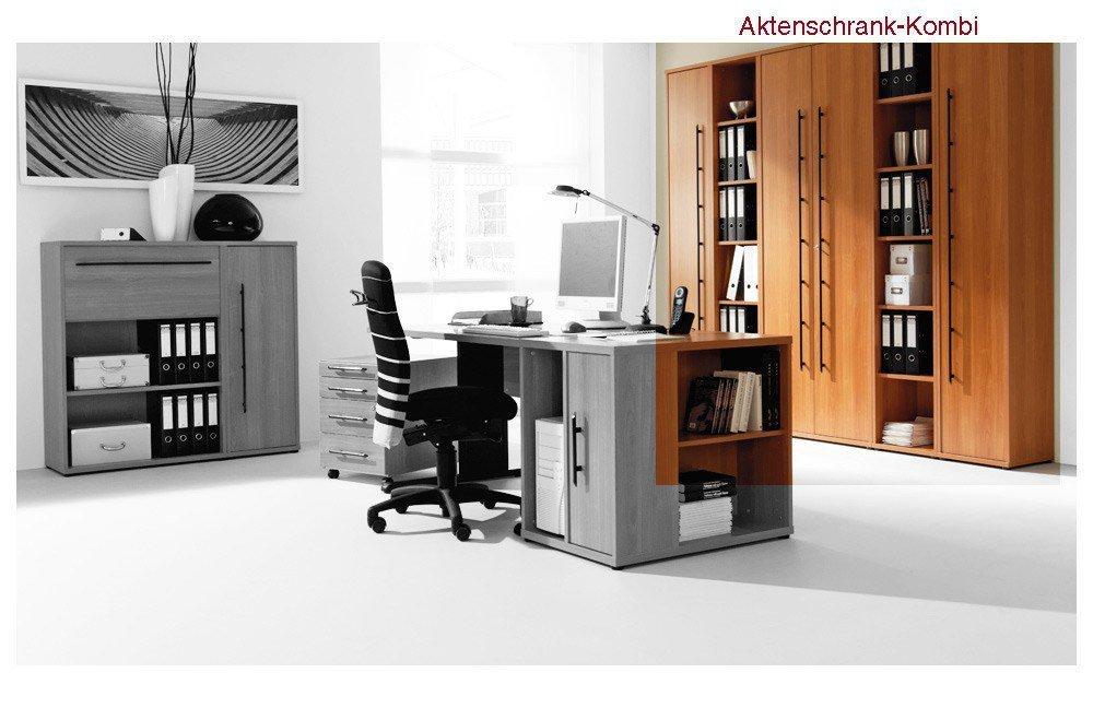 Welle Büro Combi+ Kirsche.   Möbel Letz - Ihr Online-Shop
