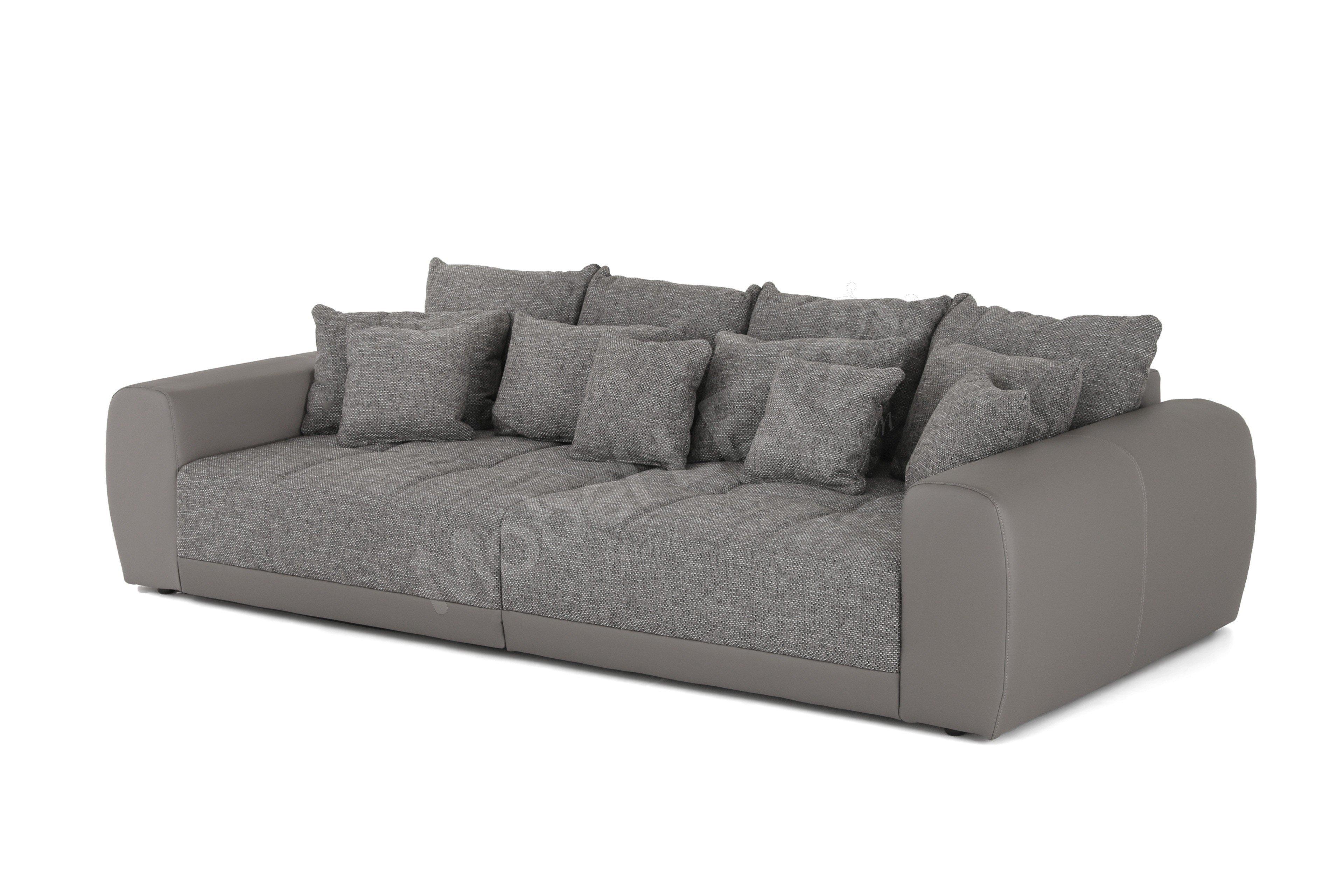 Kollektion Letz Big Sofa Natascha in grau | Möbel Letz - Ihr ...