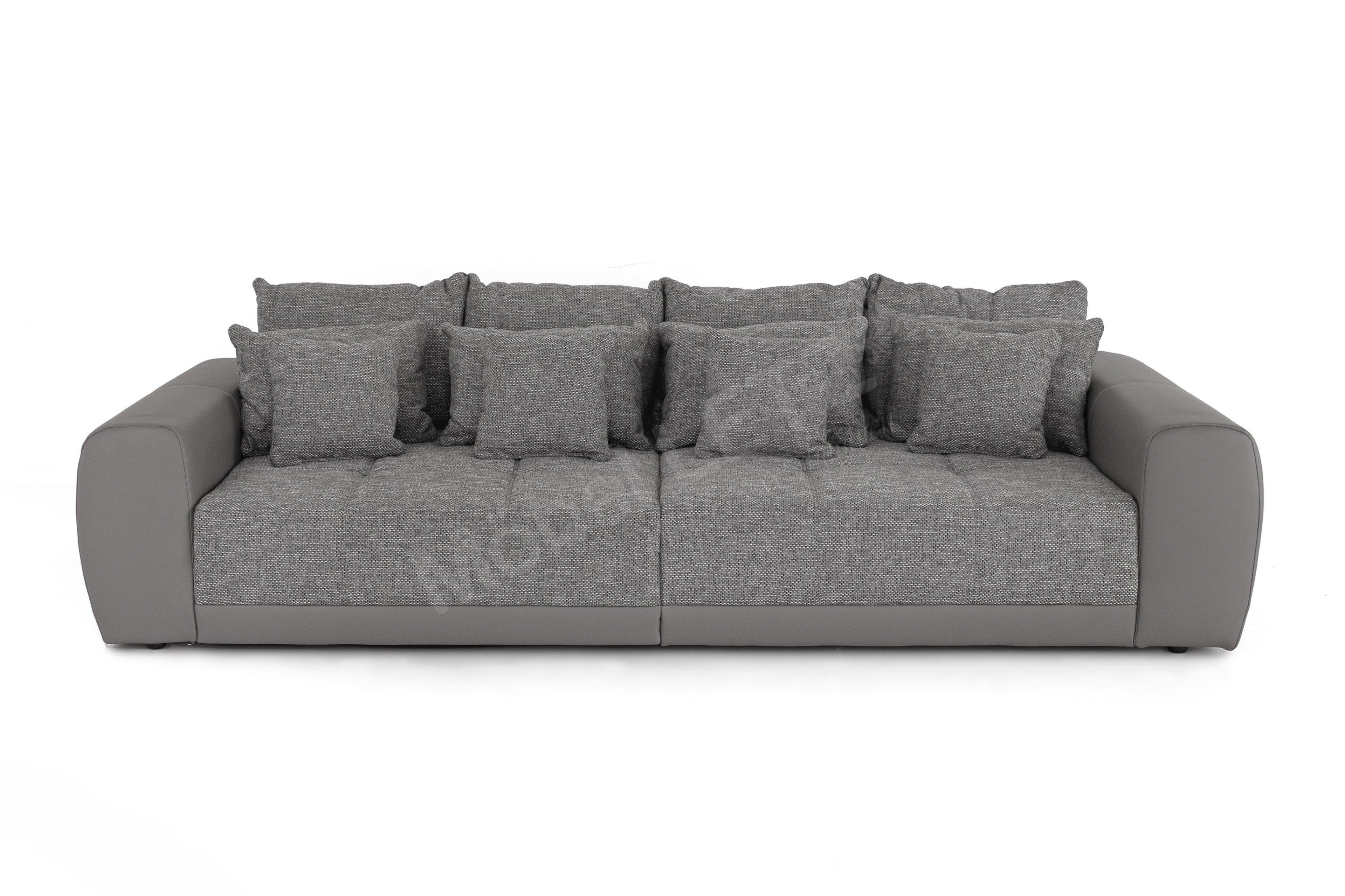Schön Big Sofa Microfaser Foto Von Natascha Aus Der Kollektion Letz Grau With