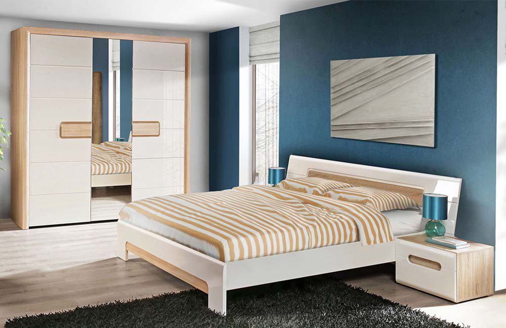 forte tiziano schlafzimmer eiche sonoma m bel letz ihr online shop. Black Bedroom Furniture Sets. Home Design Ideas