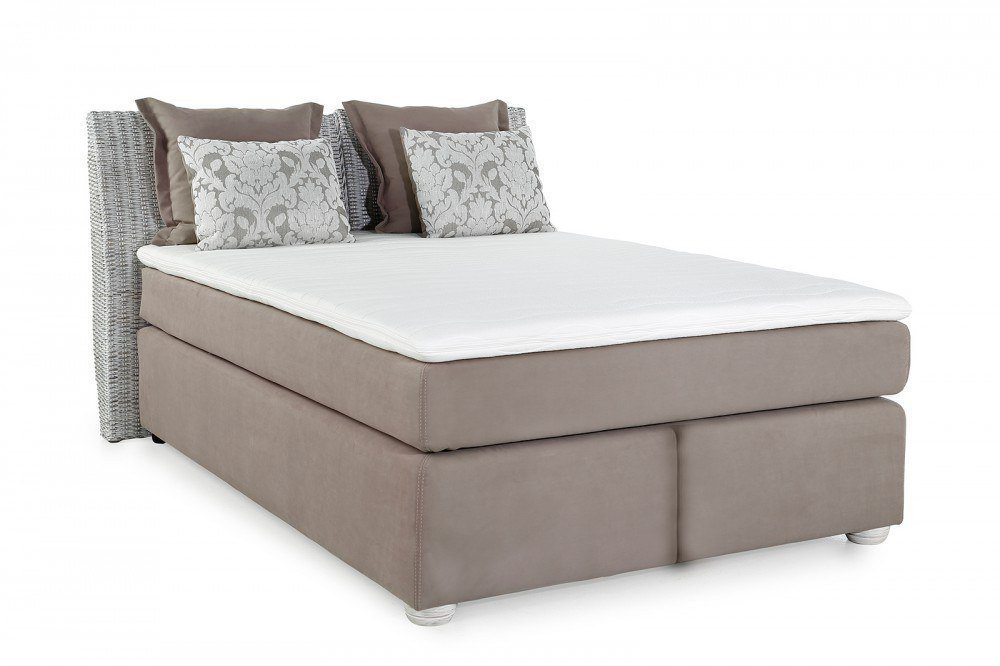 jockenh fer celine boxspringbett braun beige m bel letz ihr online shop. Black Bedroom Furniture Sets. Home Design Ideas