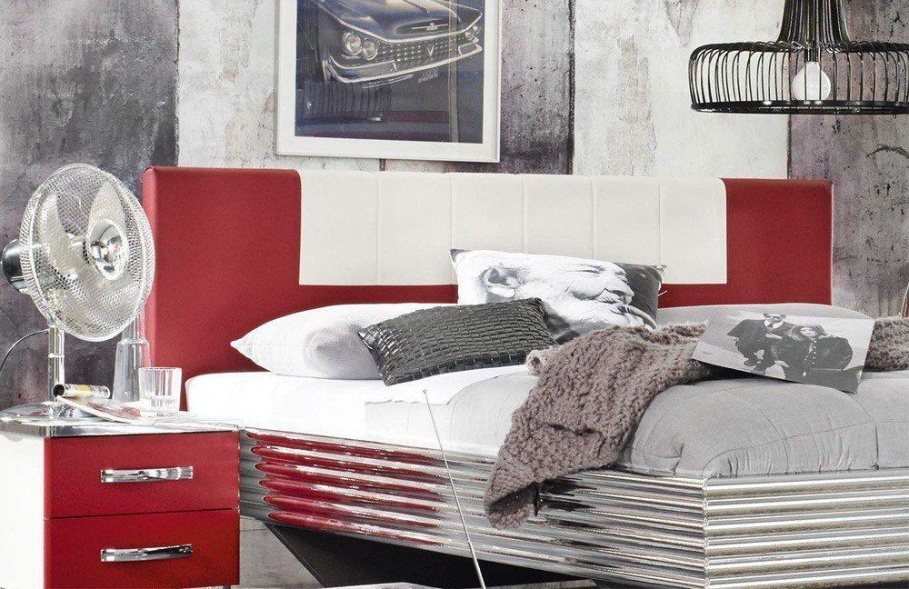 rauch cubana schlafzimmer set rot wei m bel letz ihr online shop. Black Bedroom Furniture Sets. Home Design Ideas