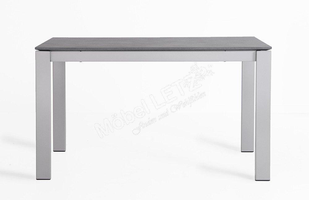 esstisch baron laminat zement metall satiniert von  ~ Esstisch Zement