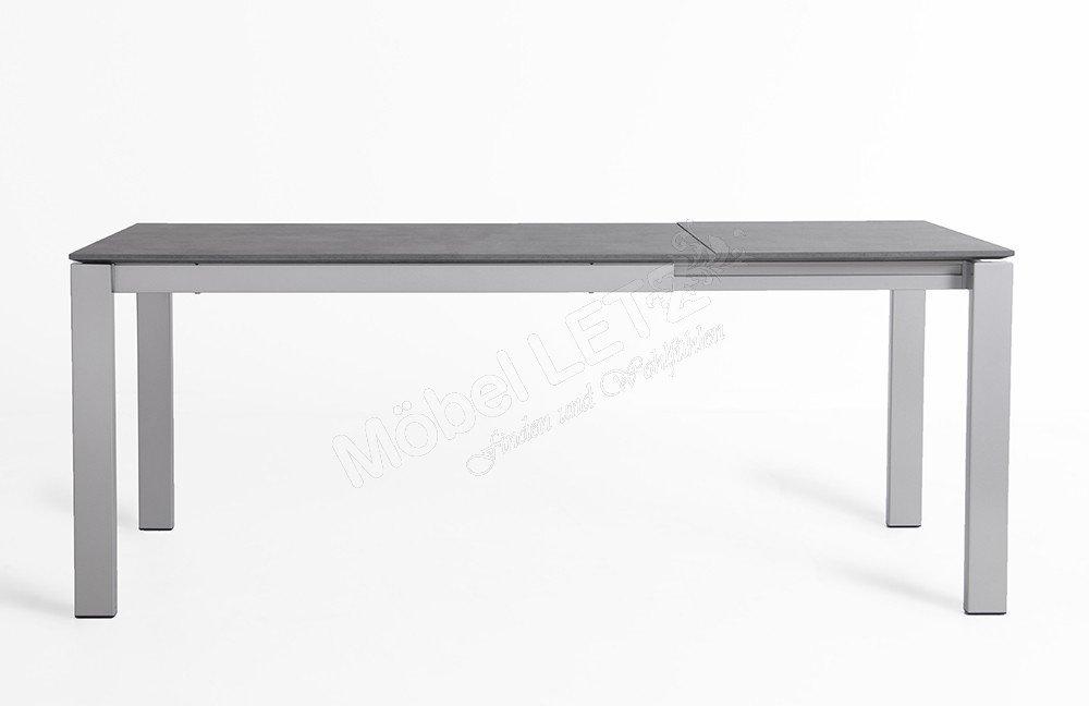 Esstisch Zement = esstisch baron laminat zement metall satiniert von