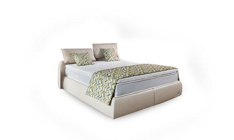 ruf primero boxspringbett kunstleder in natur m bel letz. Black Bedroom Furniture Sets. Home Design Ideas