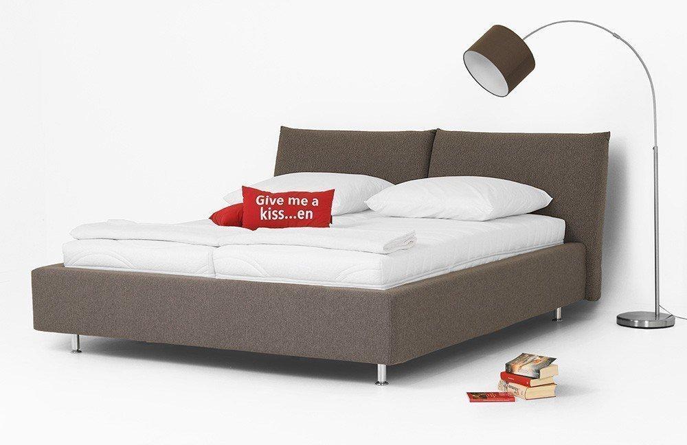kollektion letz nayomi polsterbett in grau m bel letz ihr online shop. Black Bedroom Furniture Sets. Home Design Ideas