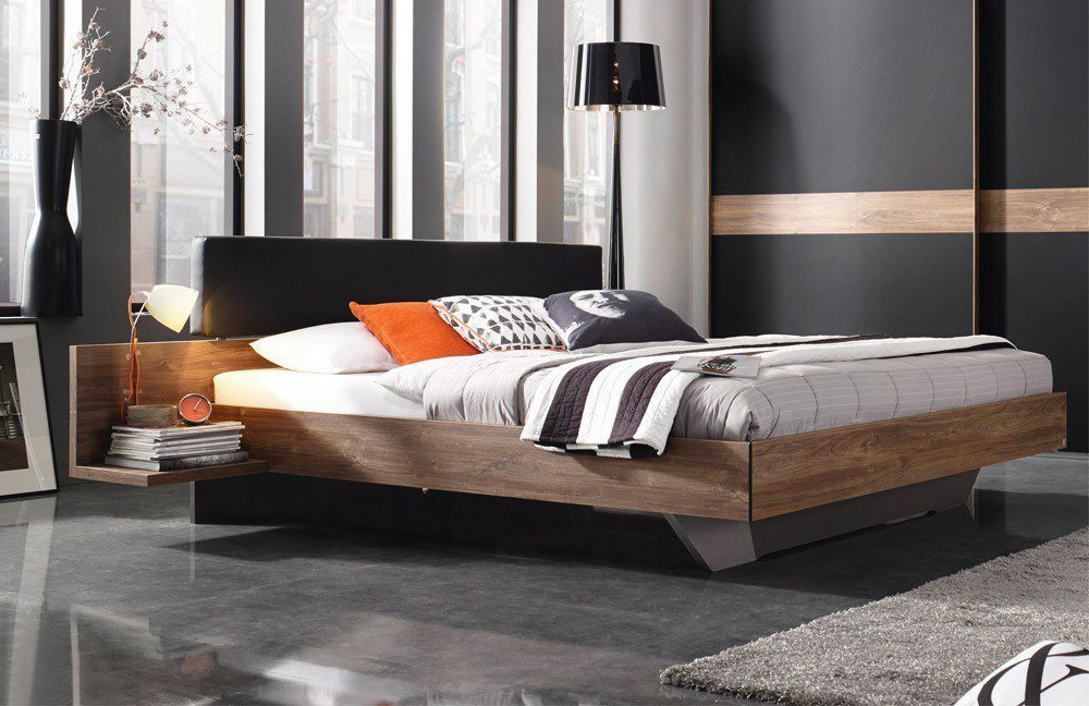 rauch calgary schlafzimmer eiche schwarz m bel letz ihr online shop. Black Bedroom Furniture Sets. Home Design Ideas