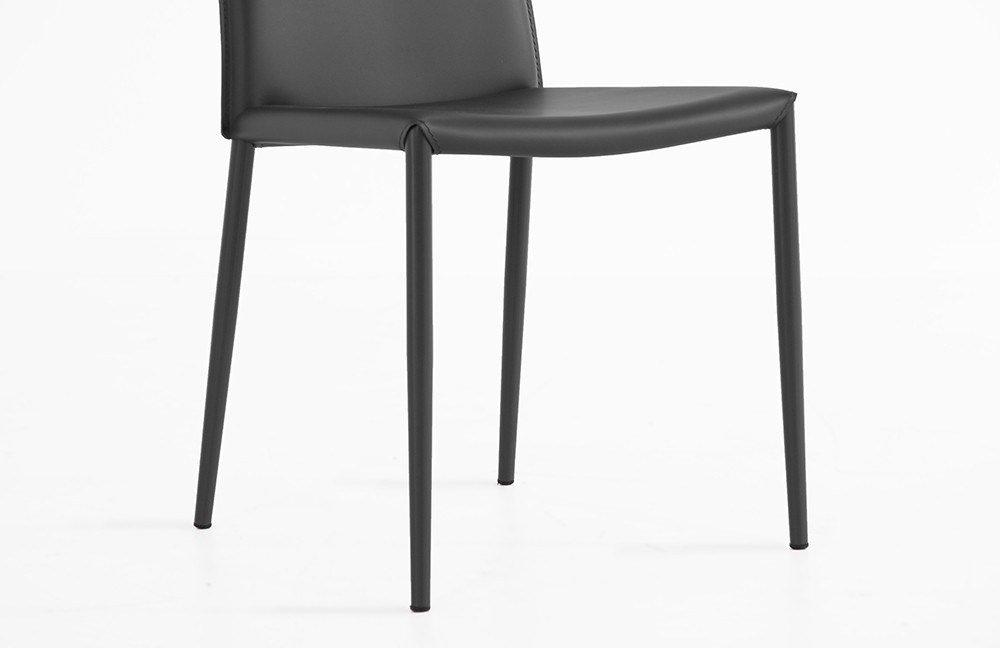 connubia by calligaris stuhl boheme grau m bel letz ihr online shop. Black Bedroom Furniture Sets. Home Design Ideas