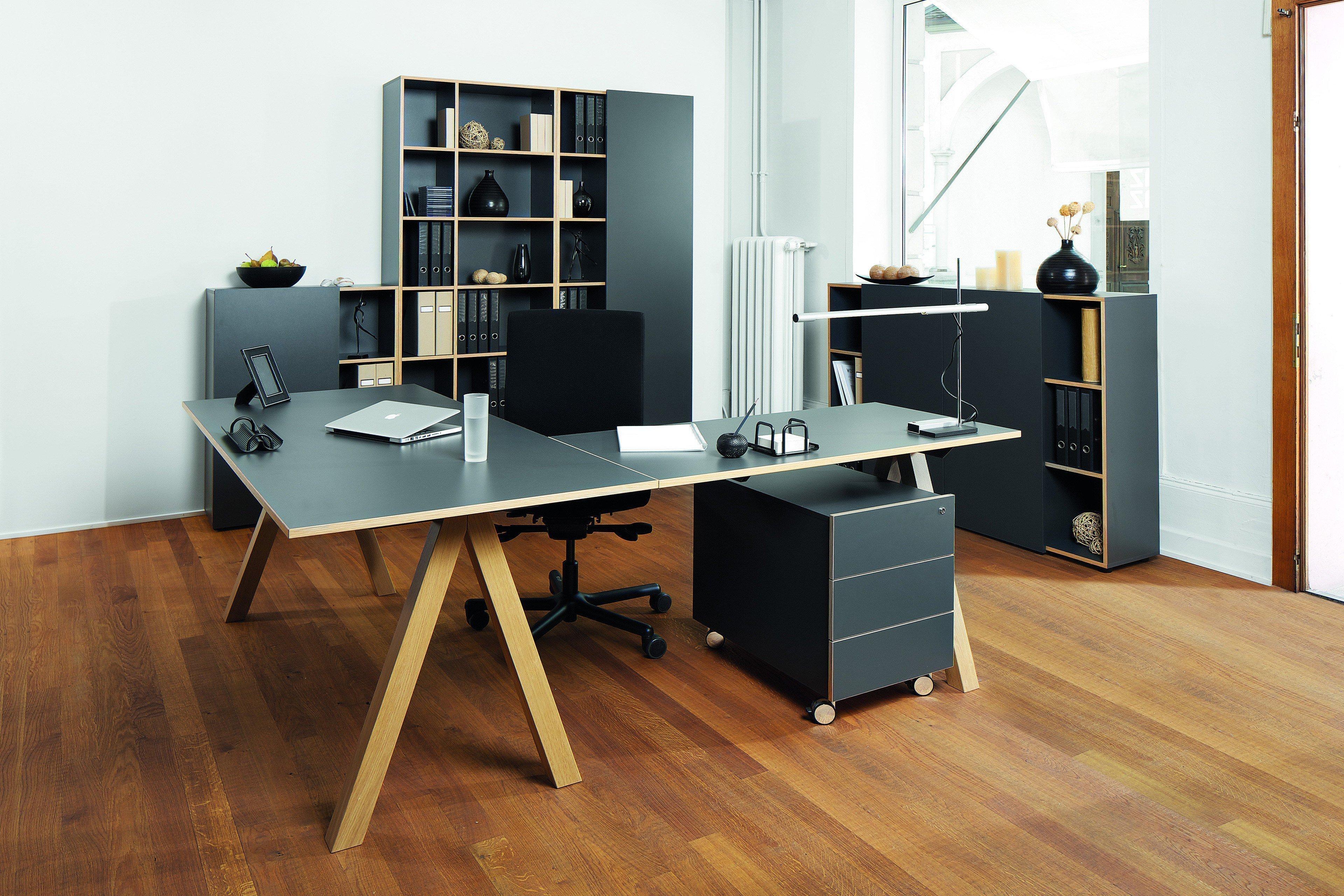 reinhard oslo schreibtisch anthrazit m bel letz ihr. Black Bedroom Furniture Sets. Home Design Ideas
