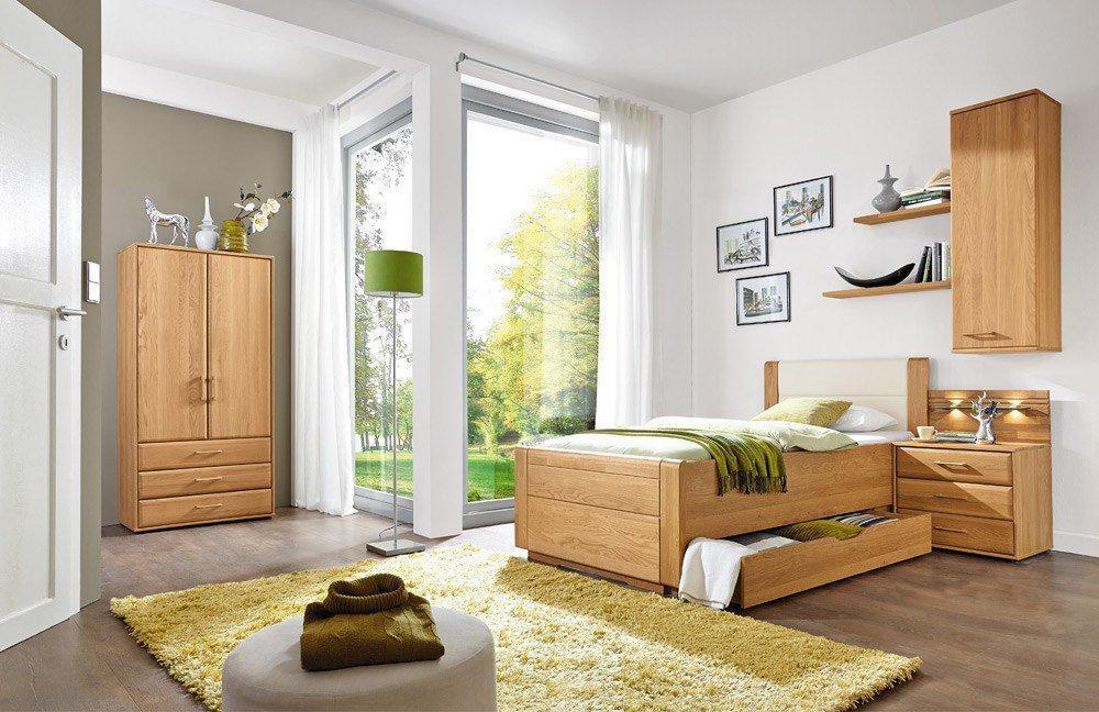 Wiemann Lido Einzelbett + Wäscheschrank | Möbel Letz - Ihr Online-Shop