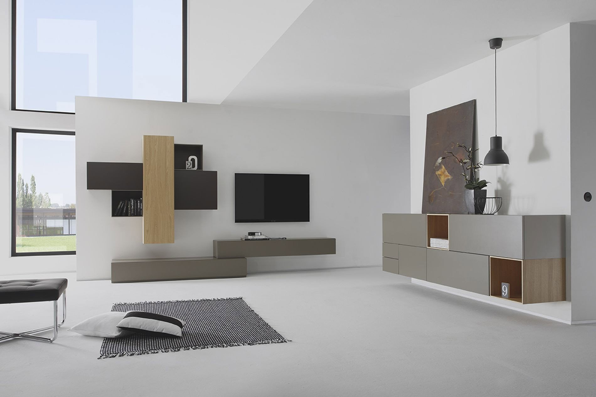 wohnwand cubo v678 von sudbrock m bel letz ihr online shop. Black Bedroom Furniture Sets. Home Design Ideas