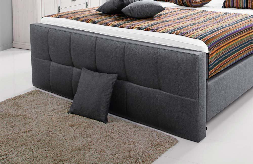 breckle europa boxspringbett grau m bel letz ihr. Black Bedroom Furniture Sets. Home Design Ideas