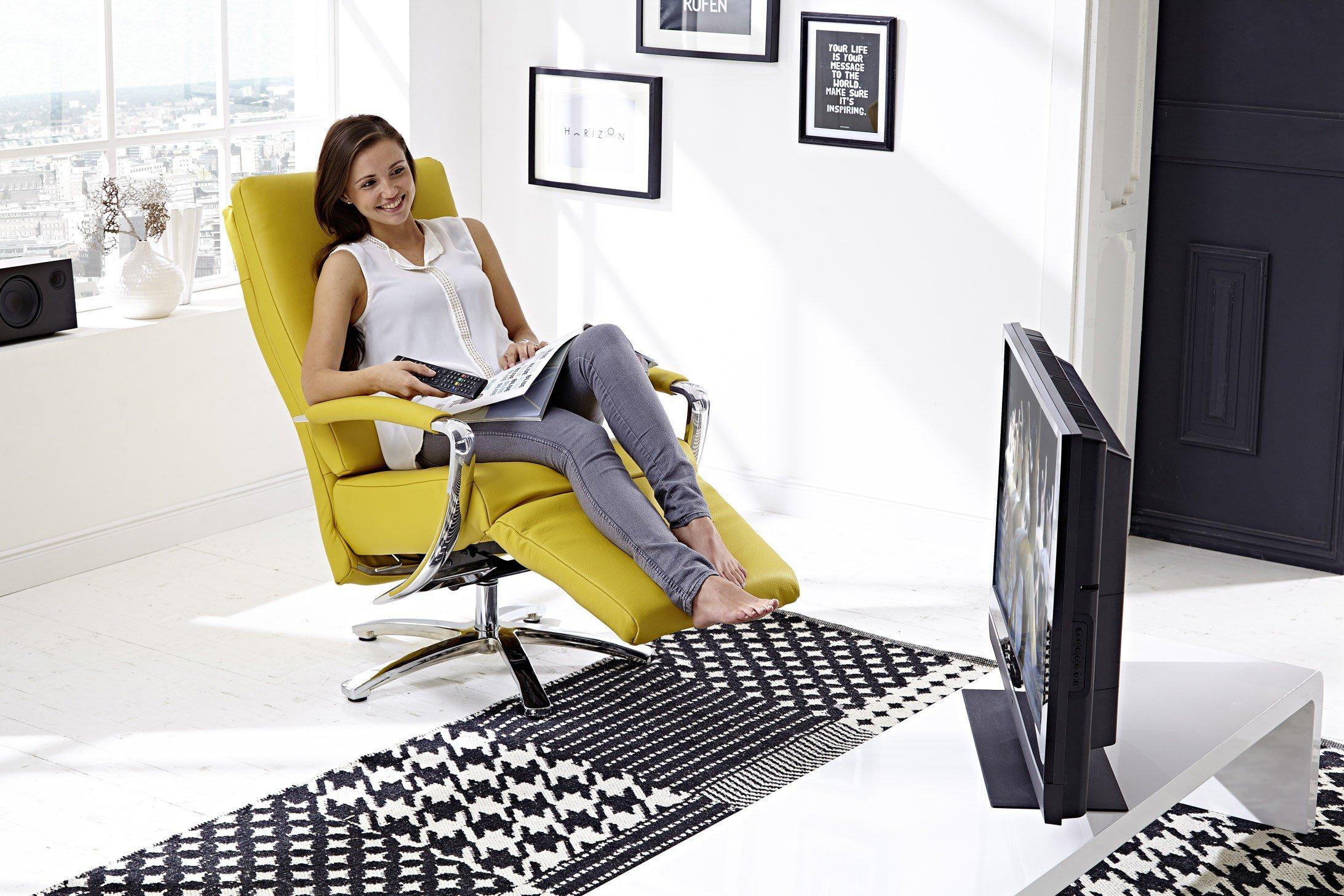 PM Oelsa Kenia Relaxsessel curry-farbig | Möbel Letz - Ihr Online-Shop