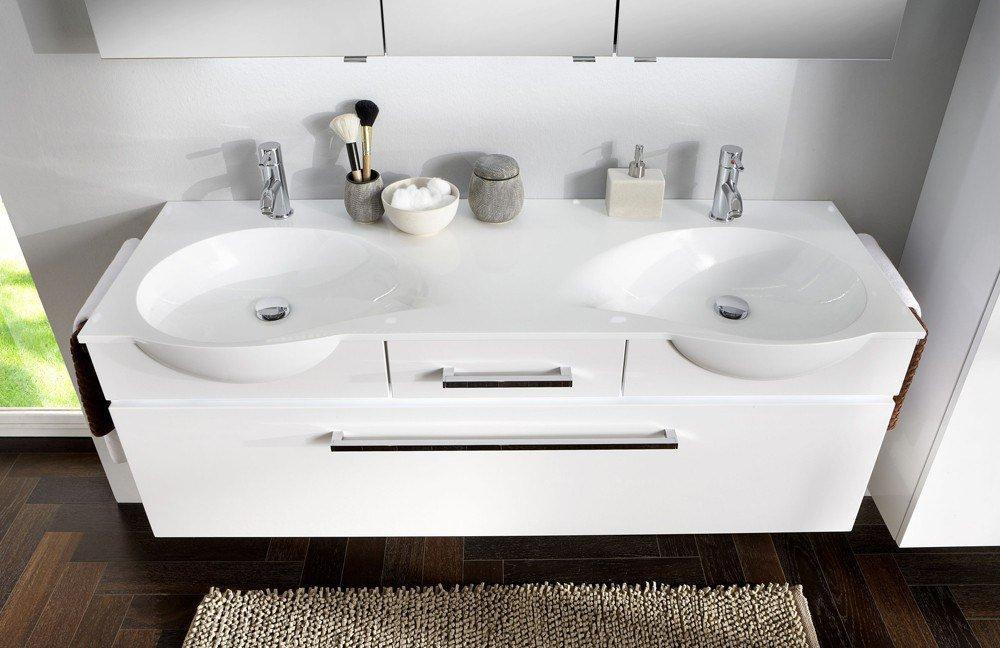 Marlin Badezimmer Waschtisch-Set 3080 weiß   Möbel Letz - Ihr Online ...